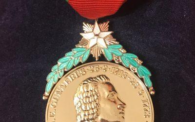 Gunnerusmedaljer til Blix og Walløe