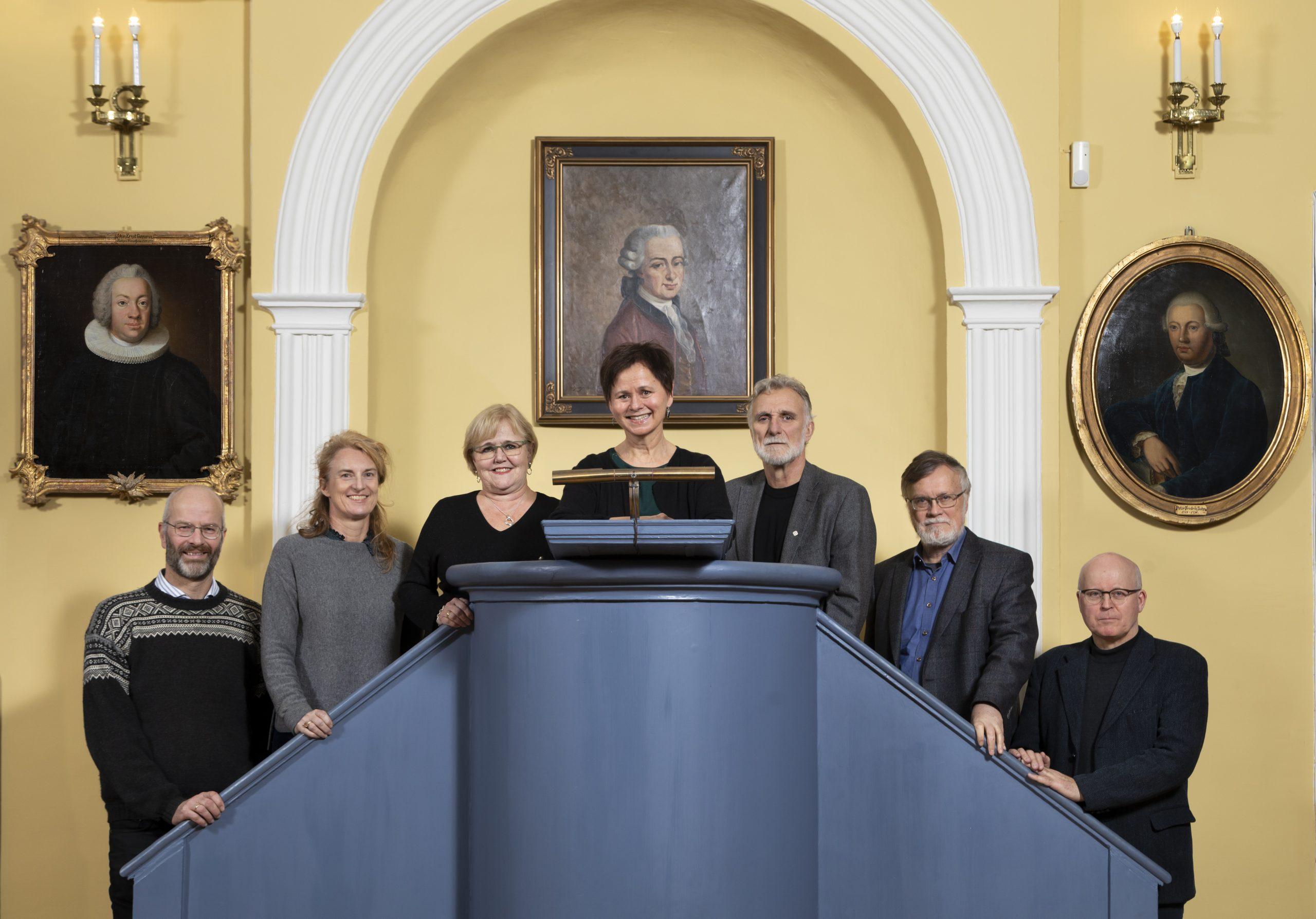 Foto av styret i DKNVS for 2020