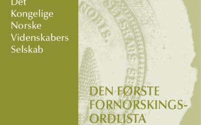 Skrifter i 2020: Norsk språk og historier fra bygrunnen