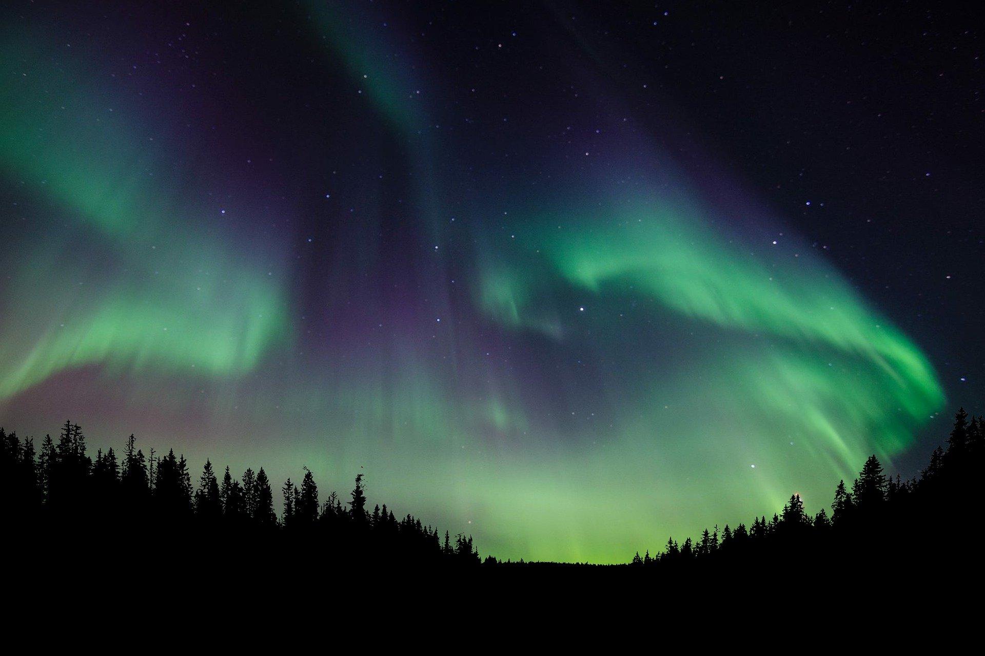 Nordlys. Foto: Pixabay