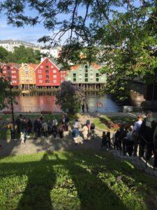 Mette Bye. Bryggene i Kjøpmannsgata - historikk og vitalisering @ Oppmøte utenfor Sjøfartsmuseet