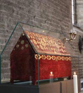 Ingrid Lunnan Nødseth: Å kle inn det hellige - tekstil retorikk i senmiddelalderens kirkerom @ Rådhussalen, Trondheim folkebibliotek